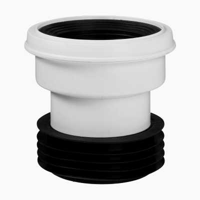 CENTERED SEWAGE/WC-ADAPTER