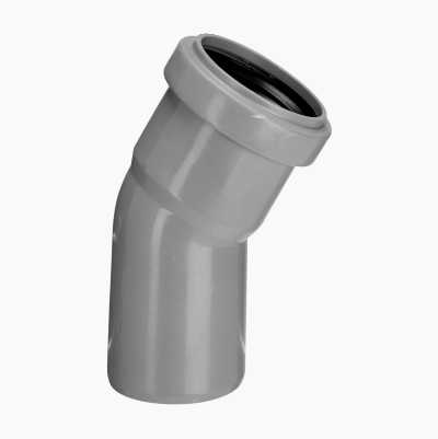 DRAIN ELBOW 30°, 1 SLEEVE,50MM