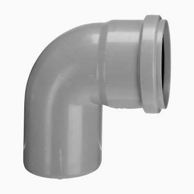 DRAIN ELBOW 87° 1 SLEEVE 75 MM