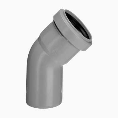 DRAINELBOW 45° 1 SLEEVE, 50 MM