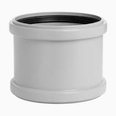 DRAINPIPE DOUBLE SLEEVE 50MM