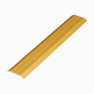 FLOOR LIST, ALU. 1,8M GOLD