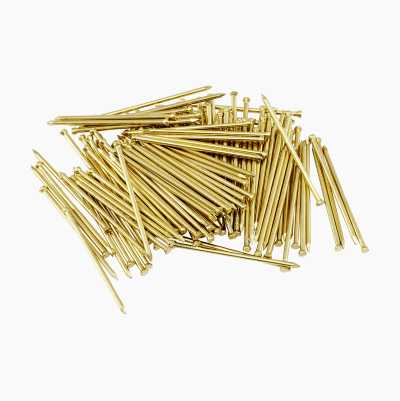 BRASS PLATED NAIL 25 X 1.4