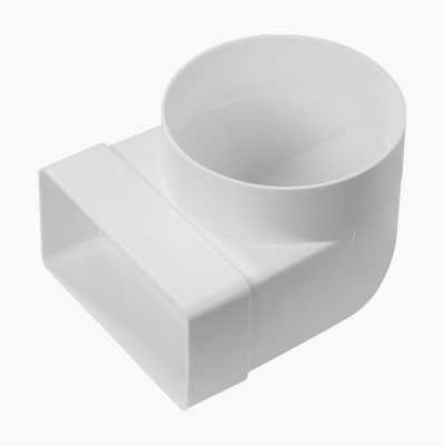 VENT FLAT-ROUND ADAPTER