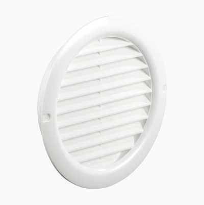 GRILL WHITE ROUND 12MM A.M NET