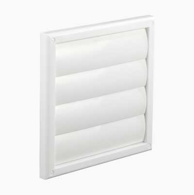 GRILL WHITE 187X187MM D-125MM