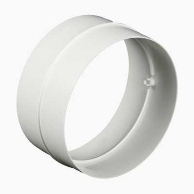 CONNECTOR DIA-125MM WHITE