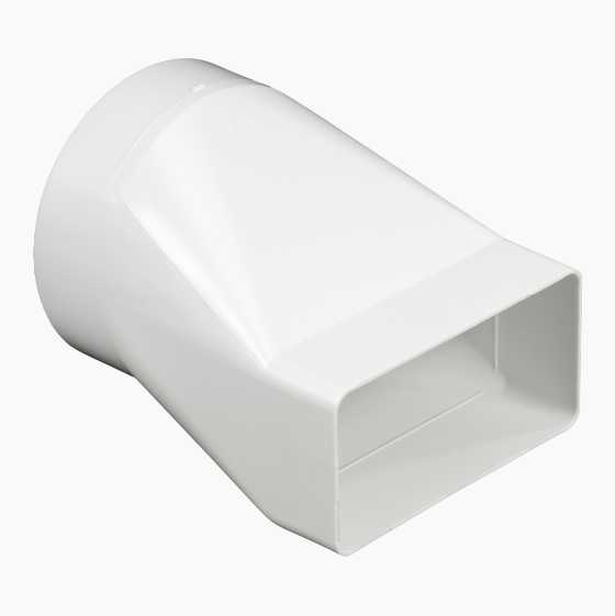 FLAT-ROUND ADAPTER 110X55MM