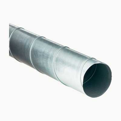 100MMX2M VENT.SPIRAL DUCT PIPE