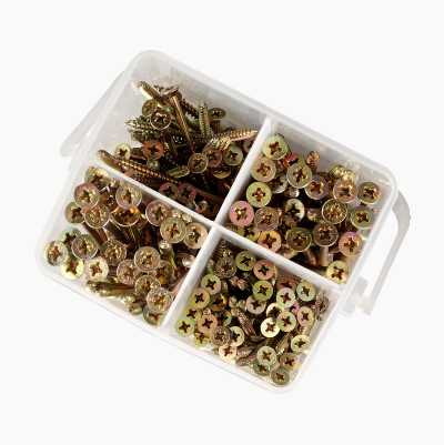 185PCS CHIPBOARD SCREW SET