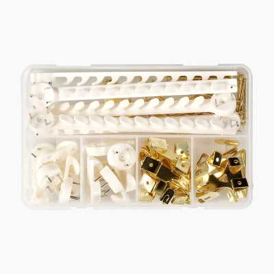 72PCS PICTURE HANGER KIT