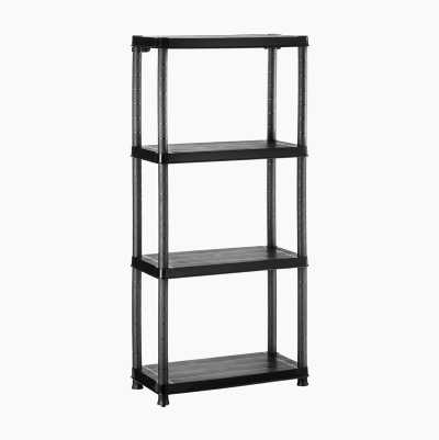PLATIC SHELVE 4 SHELVES