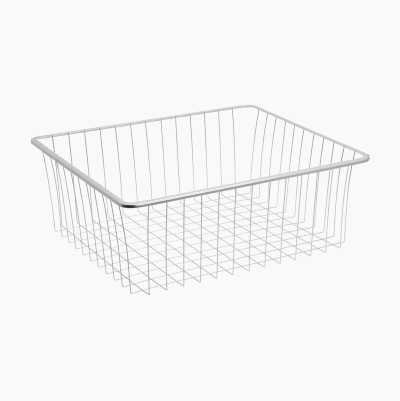WIRE BASKET 536x503x90MM GREY