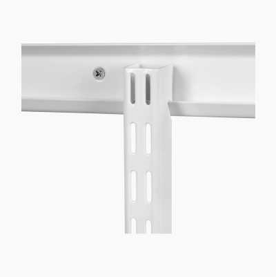 WALLRAIL HANG 2200MM WHITE
