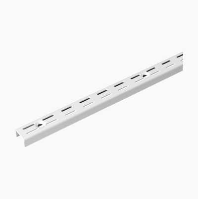 WALLRAIL 1280MM WHITE DOUBLE