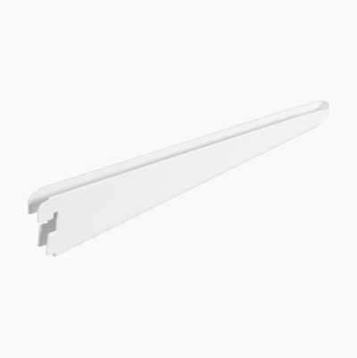 BRACKET 370MM WHITE DOUBLE