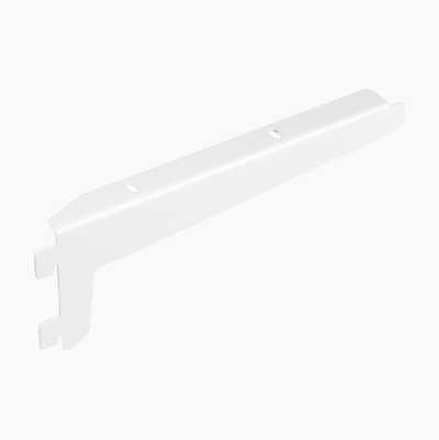 BRACKET 240MM WHITE 2-PCS