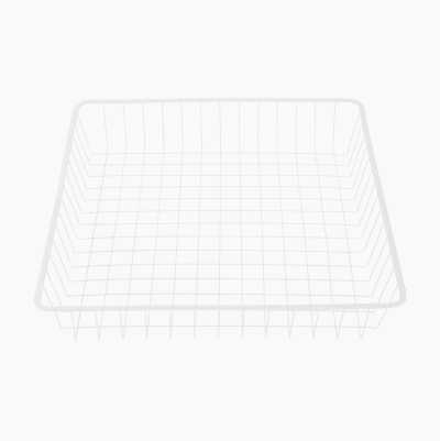 WIRE BASKET 536X503X90MM WHITE