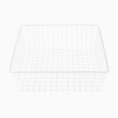WIRE BASKET 536X503X180MM WHIT