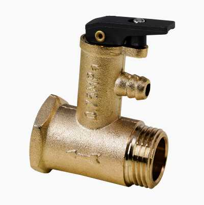 SECURITY VALVE 7,5 BAR FOR HWH