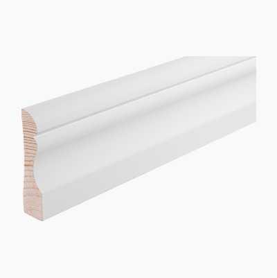 WOODTRIM PINE WHITE15X69 2,2M