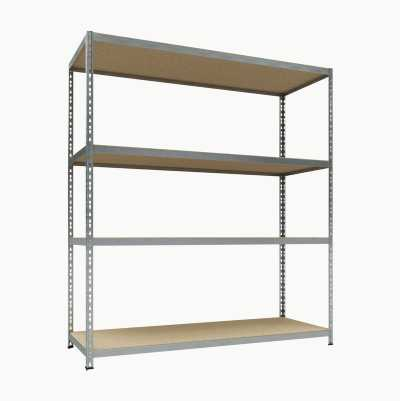 METAL SHELF FOR HEAVY STORAGE