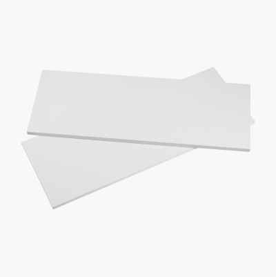 SHELF BOARD WHITE 1200X300X18