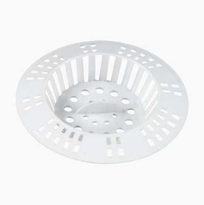 HAIRTRAPP WHITE PLASTIC