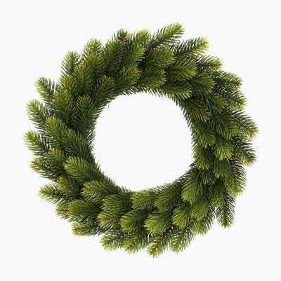 CHRISTMAS WREATH 64 TIPS 40CM