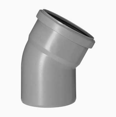 DRAINELBOW 30° 1 SLEEVE, 100MM
