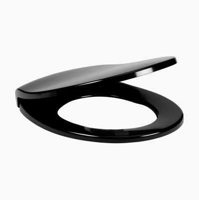TOILETSEAT SOFTCLOSE BLACK