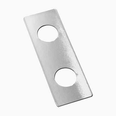 COVERPLATE DOORHANDLE 2MM