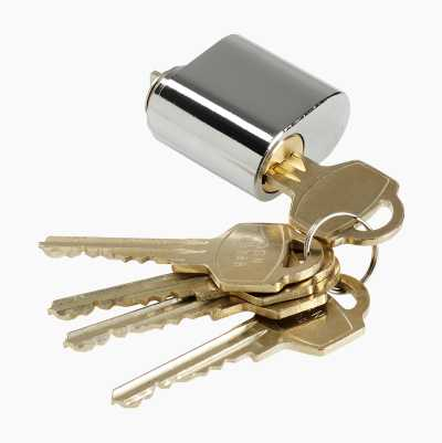 CYLINDER OV. SINGLE 5 KEYS