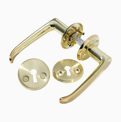 DOORHANDLE BRASS 313