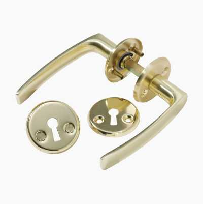 DOORHANDLE BRASS 306
