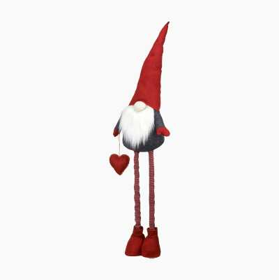 SANTA WITH TELESCOPIC LEGS RED