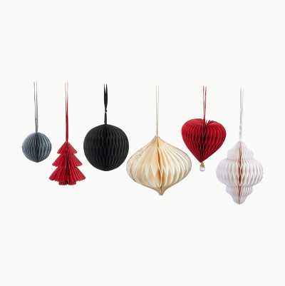 PAPER DECORATIONS 6PACK