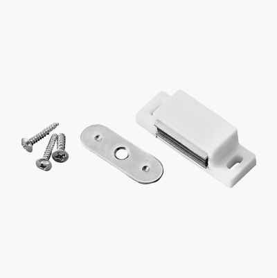 10PCS MAGNETIC CATCH WHITE