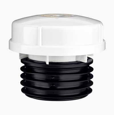 110MM AIR VALVE WHITE SEWAGE