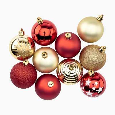 CHRISTMAS BALLS 10P
