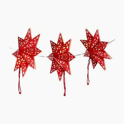 RED STAR LED GARLAND
