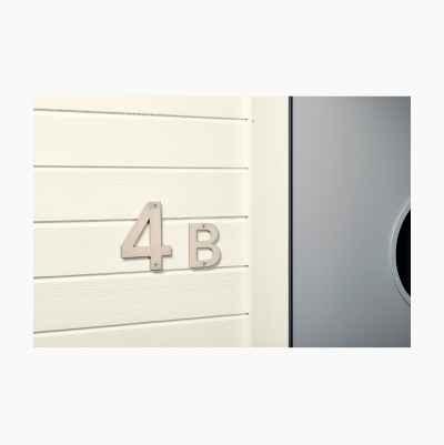 HOUSE LETTER 110MM - B