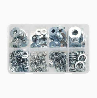 Washer Assortment, 250-pack