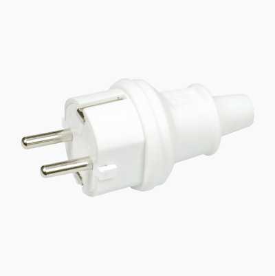 Earthed plug