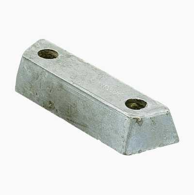 Zinc anode for Volvo Penta shield