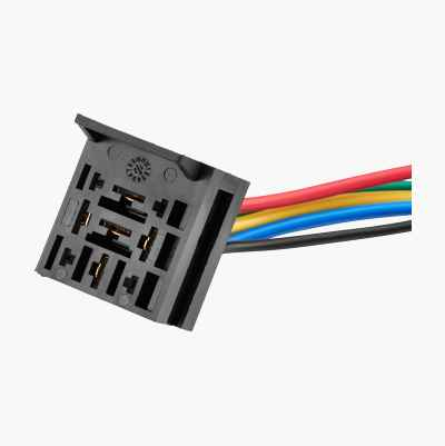 Relay socket, extendible