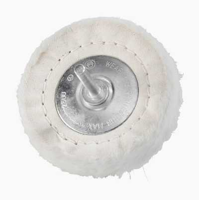 Polishing disc, cotton