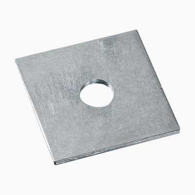 Square washers, 10-pack.
