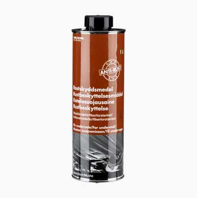 Corrosion inhibiting agent for undercarriages, fibre-reinforced