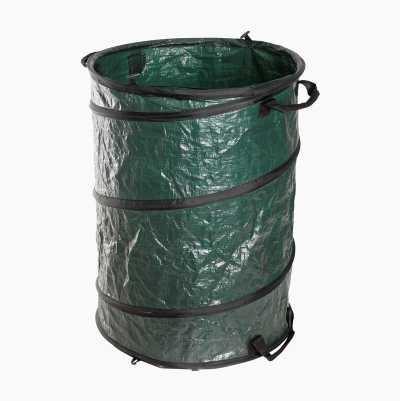 Löv- och gräsbehållare